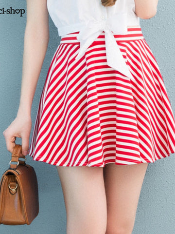 summer sweetheart flared skirt