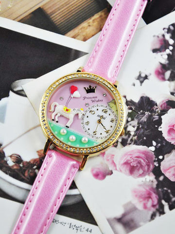 my pink princess dream mini watch