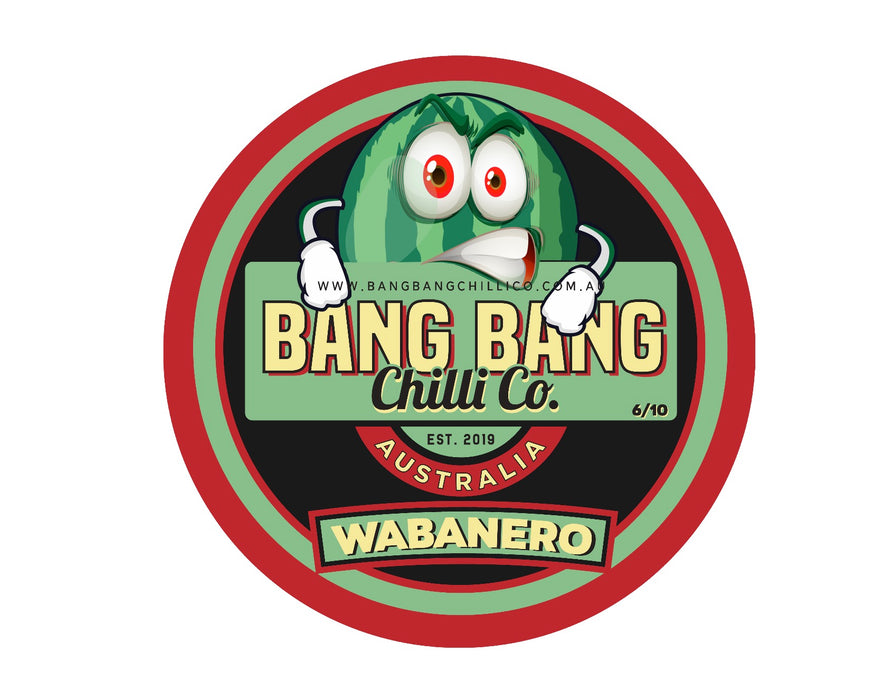 Wabanero - Watermelon Chilli - Bang Bang Chilli Co