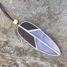 Small Stained Glass Feather