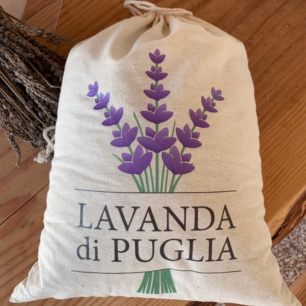 Lavender Bag Italy Natural Large