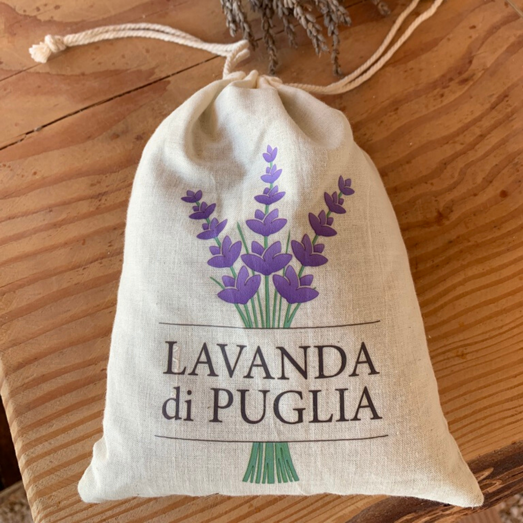 Lavender Bag Italy Natural Medium