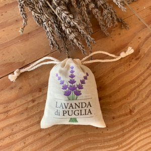 Lavender Bag Italy Natural Small
