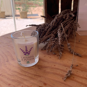 Small Lavander Candle