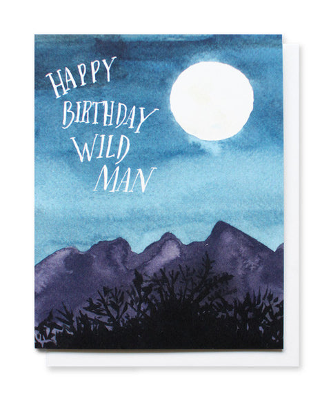 wild man birthday card - www.mignonshop.com - 1