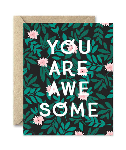 you are awesome card - www.mignonshop.com