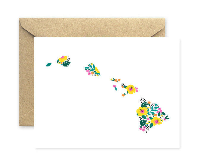 hawaii state card - www.mignonshop.com