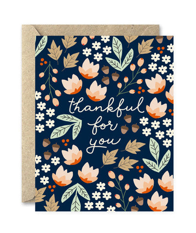 thankful for you card - www.mignonshop.com