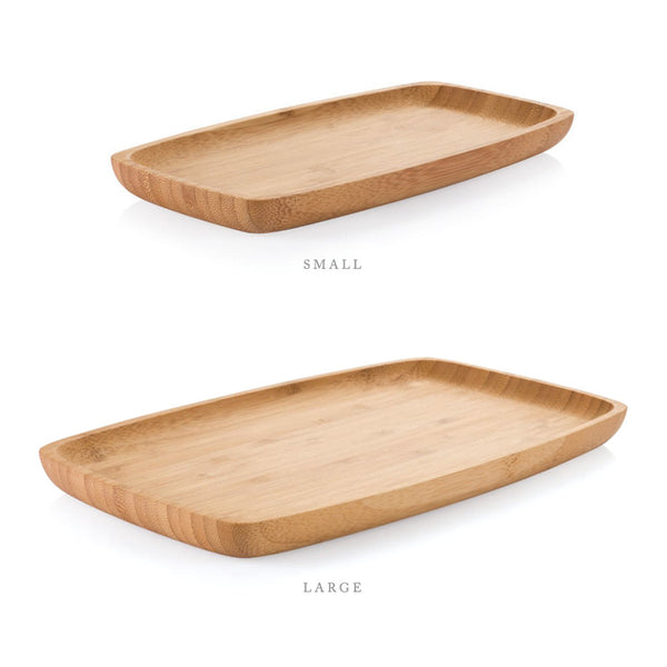 set of both (one small, one large) bamboo appetizer tray - www.mignonshop.com - 3