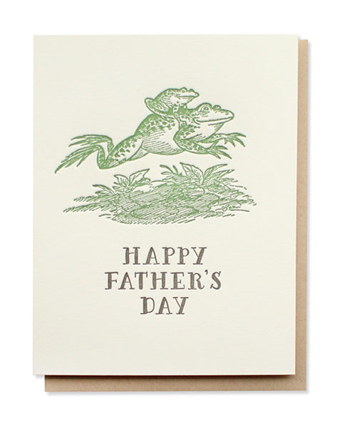 father's day frogs card - www.mignonshop.com