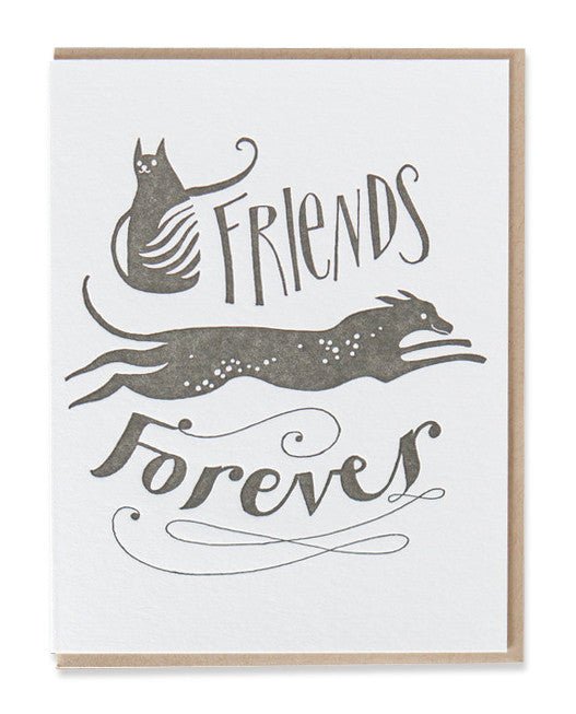friends forever card - www.mignonshop.com