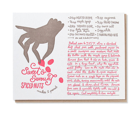 spiced nuts card - www.mignonshop.com