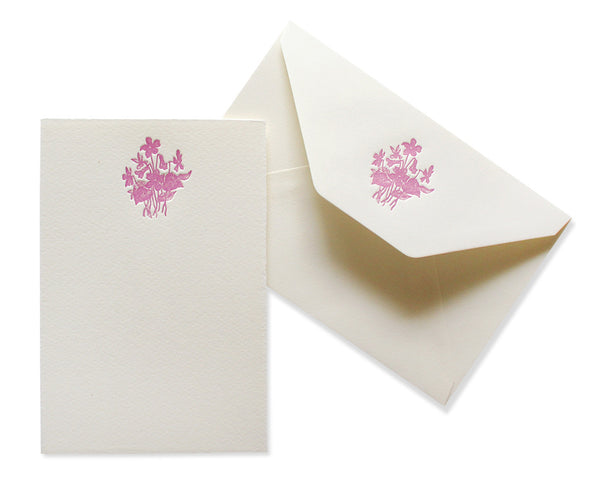 wildflowers stationery set - www.mignonshop.com - 2
