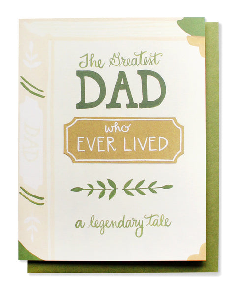 the greatest dad card - www.mignonshop.com