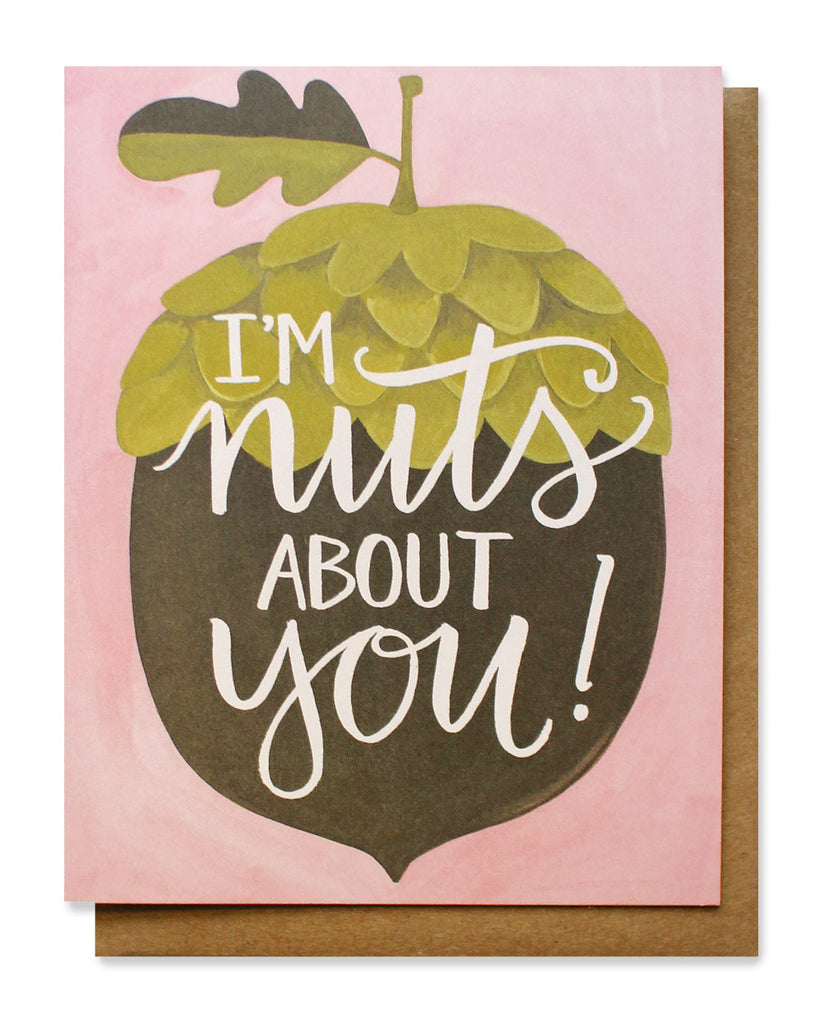 nuts about you card - www.mignonshop.com
