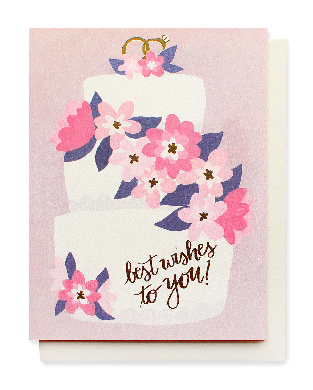 wedding cake card - www.mignonshop.com