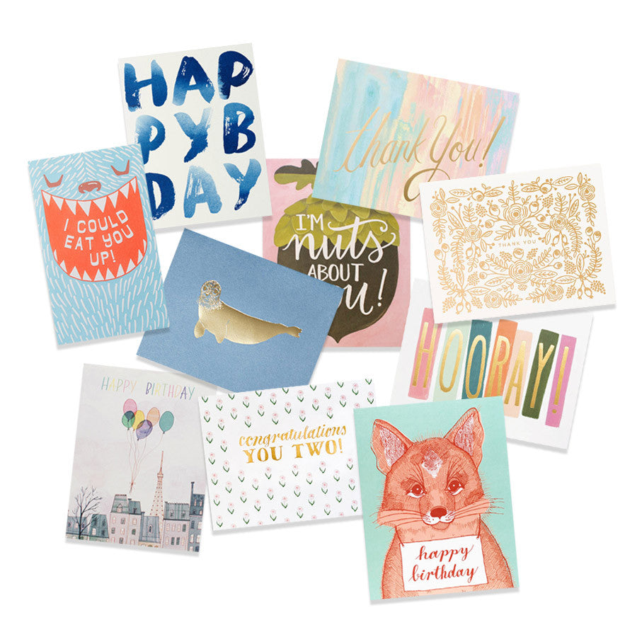 greeting card grab bag - www.mignonshop.com