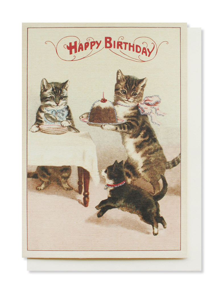 happy birthday kittens card - www.mignonshop.com