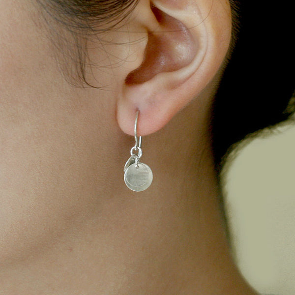 dolce in silver earrings