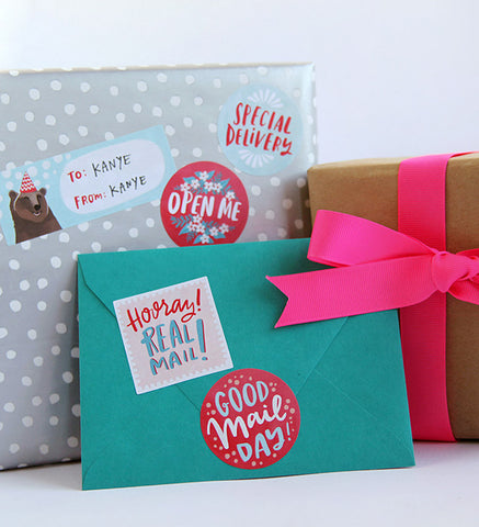 everyday mail flair stickers - www.mignonshop.com - 1