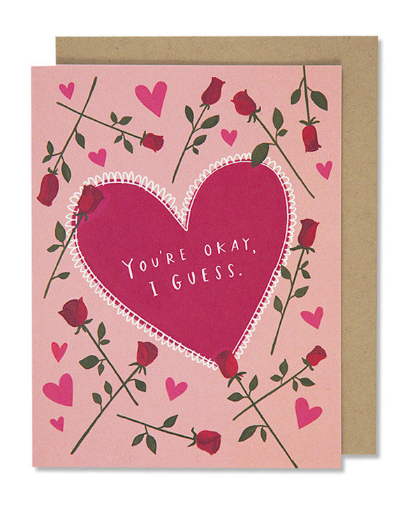 you're okay i guess card - www.mignonshop.com