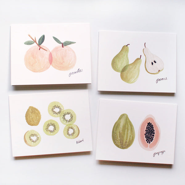 fruit cards - www.mignonshop.com - 2
