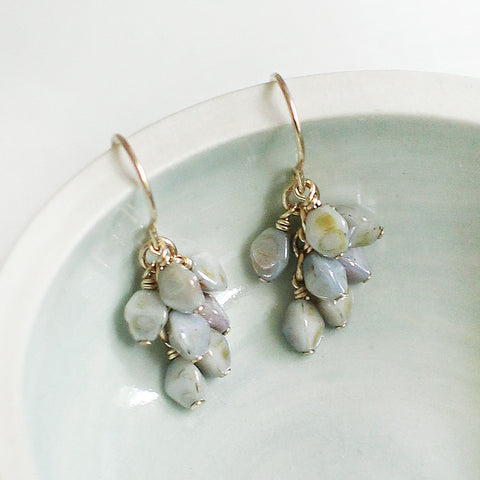 gretel earrings in mottled tones - www.mignonshop.com - 1