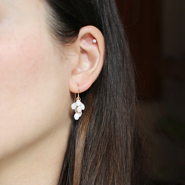 gretel in white earrings - www.mignonshop.com - 3