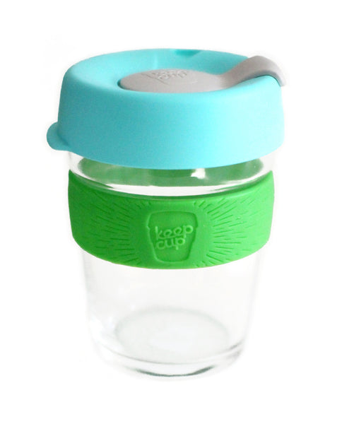 blue and green colorful reusable coffee cup - www.mignonshop.com - 2