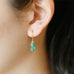 lucky in turquoise earrings - www.mignonshop.com - 5