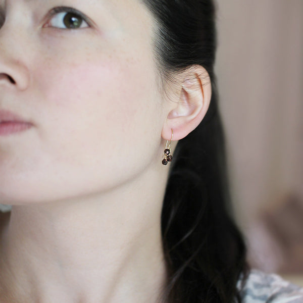 lucky in bronze earrings - www.mignonshop.com - 4