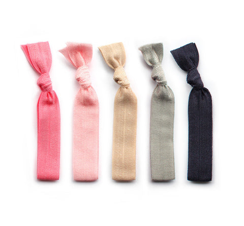 pink & neutral hair ties - www.mignonshop.com - 1