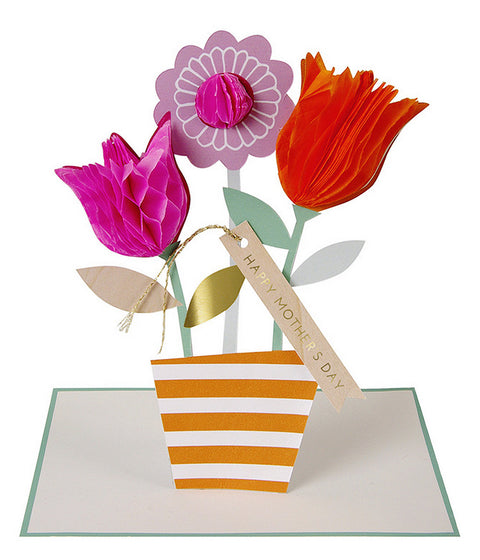 flower bouquet card - www.mignonshop.com