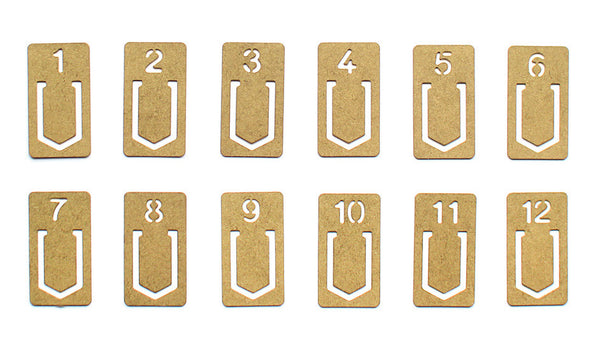brass number clips - www.mignonshop.com - 2