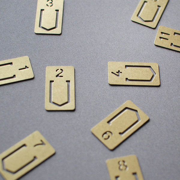 brass number clips - www.mignonshop.com - 3