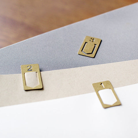 brass number clips - www.mignonshop.com - 1