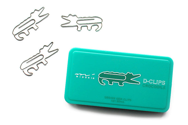 crocodile animal paper clips - www.mignonshop.com - 4