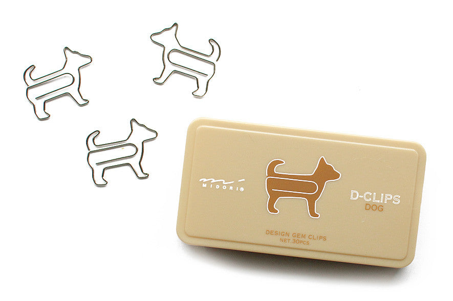 dog animal paper clips - www.mignonshop.com - 2