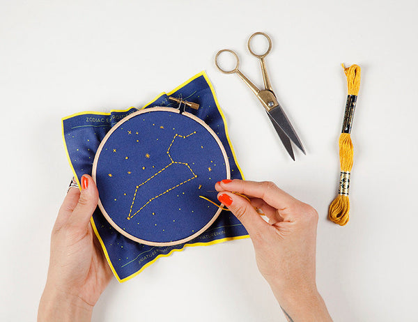 constellation embroidery kit - www.mignonshop.com - 4