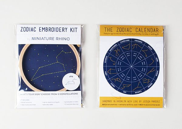constellation embroidery kit - www.mignonshop.com - 5