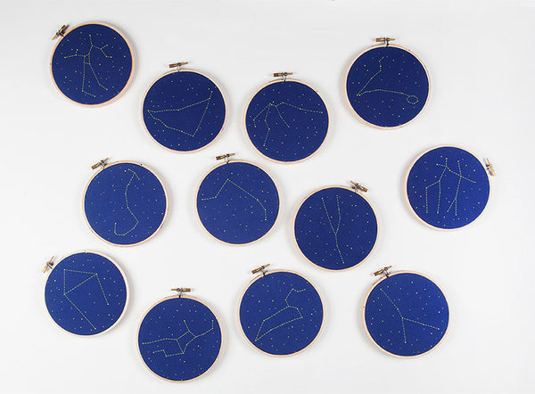 constellation embroidery kit - www.mignonshop.com - 7