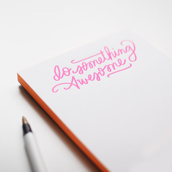 do something awesome jotter - www.mignonshop.com - 2