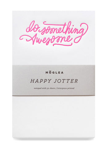 do something awesome jotter - www.mignonshop.com - 1