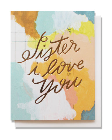 sister i love you card - www.mignonshop.com