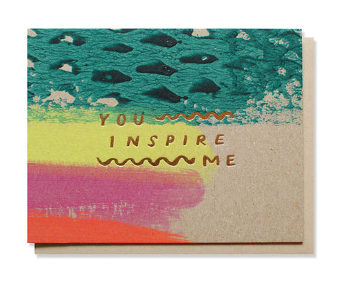 you inspire me card - www.mignonshop.com