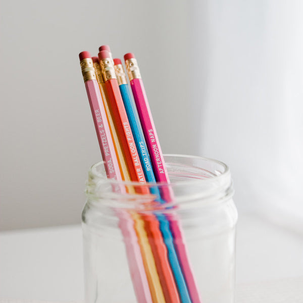 days of summer pencil set - www.mignonshop.com - 3