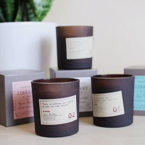 library candles - www.mignonshop.com - 1