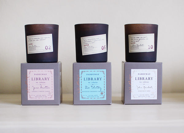 library candles - www.mignonshop.com - 2