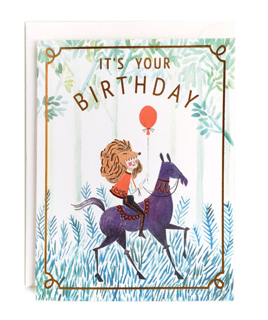 it's your birthday card - www.mignonshop.com