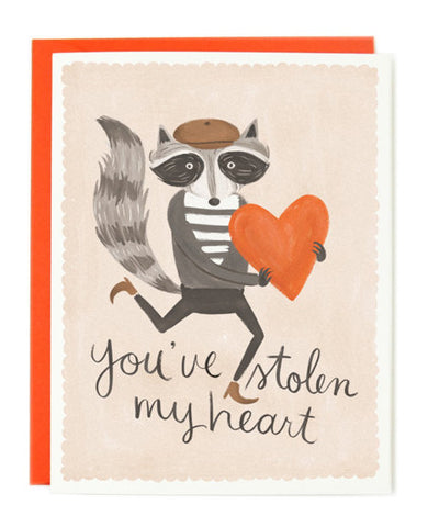 you've stolen my heart card - www.mignonshop.com